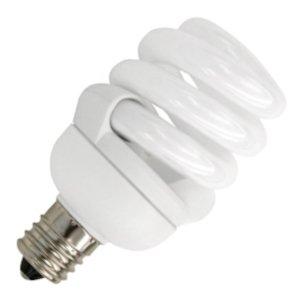 9w Springlamp - TCP 48909C30K 9-watt 3000-Kelvin Springlamp CFL Pro Candelabra
