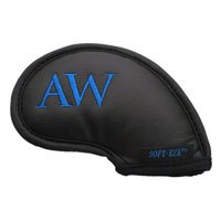 "Soft-eze ""LW"" Emb. Black Neoprene Iron Cover (One Head Cover Only), Outdoor Stuffs"