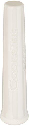 CoorsTek 60311 Porcelain Ceramic Chemical and Heat Resistant Pestle for 60310 Porcelain Mortar, 114mm Length by CoorsTek