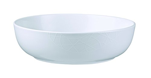 Jamie Oliver White on White Porcelain Serving Bowl 11