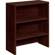 HON 107292NN 10700 Series Bookcase Hutch, 32 5/8w x 14 5/8d x 37 1/8h, Mahogany