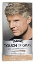 Just for Men touche de gris Traitement des cheveux gris, brun clair-Gris T-25