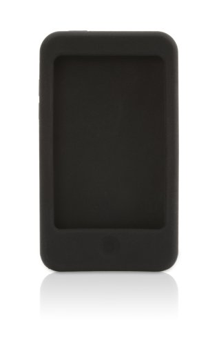 Griffin FlexGrip Silicone Case for iPod touch 2G, 3G (Black/Red)