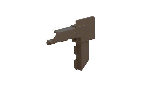 CRL Bronze Square Lip Frame Plastic Corners for WSFL7 Pack of 100 by CR Laurence ()