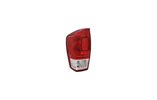 TYC 1 Pack 11-6850-00-1 Replacement Left Tail Lamp for Toyota Tacoma (Toyota Tacoma Difference Between Sr5 And Trd)