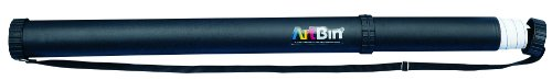 ArtBin Expandable Transport Tube - Black, AT60-T by ArtBin