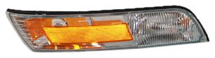 TYC 18-5043-01 Mercury Grand Marquis Passenger Side Replacement Side Marker Lamp with Corner Lamp