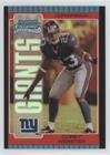 - Corey Webster (Football Card) 2005 Bowman Chrome - [Base] - Red Refractor #157