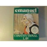 Constitutional Law, Emanuel, Steven L., 1565420365