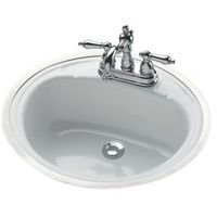 Oval 19 Lavatory Sink - 9