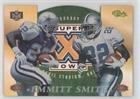 Emmitt Smith (Football Card) 1996 Classic NFL Experience - Super Bowl XXX Die-Cuts Show Promos #6C