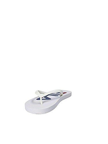 Base white Blanco Para 1fg Sport Mocasines Wmn Slipper Mujer Fila Troy FOEpz6