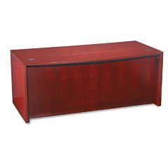 - TIFCDT72CRY - Tiffany industries Corsica Series Bow Front Desk Top