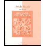 Student Study Guide, Alloy, Lauren B. and Jacobson, Neil S., 0072450398
