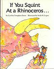 If You Squint at a Rhinoceros..., Cynthia T. Dunn, 0943173671