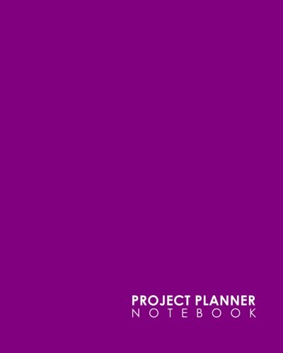 book: Project Management Note Pads, Project Manager Notepad, Project Planner Pages, Organize Notes, To Do, Ideas, Follow Up, Minimalist Purple Cover (Volume 21) ()