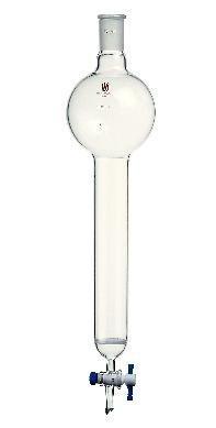 Kemtech C393220C SYNTHWARE Chromatography Column with Reservoir & Fritted Disc, 24/40 Joint, 500 mL Reservoir Capacity, 32 mm Outside Diameter
