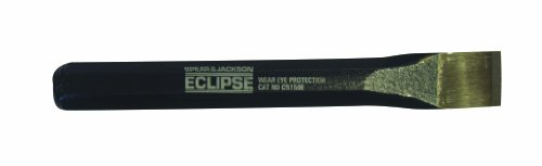- Eclipse CB150E Flat Cold Chisel, Chrome Vanadium Steel, 1