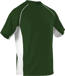Alleson Athletic Youth Unisex Baseball Crew Neck Jersey 506C X-Small Dark (Alleson Baseball Jersey)
