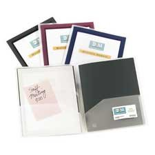 cts Products - 2-Pocket Folder, With Front Window, Letter-Size, 2/PK, Navy - Sold as 1 PK - Two-pocket folders feature a translucent front cover with a colorful border to accent your customized title page. Simply insert customized title page through a special pocket inside the cover. Inserting your card in the convenient business card holder on the right inside pocket. Flexi-View Two-Pocket Folders hold paperwork, brochures and more in lightweight, durable plastic to keep pag ()