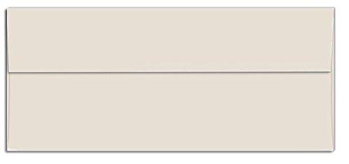 - Cougar Opaque - Business Envelopes - Square Flap - NATURAL (28/70) - NO. 10 Envelopes - 50 PK