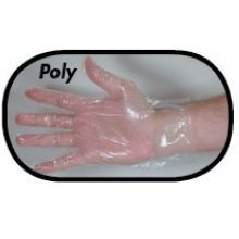 1Mil Polyethylene Glove Medium, 10 Case -- 10/100 Count by Boyd Medical