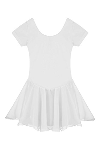 Price comparison product image Bifast Casual Dance Dress Short Sleeve Crewneck Solidi Baby Girl Dress
