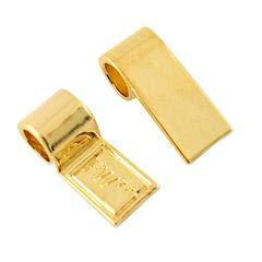 Fuseworks Posh Pendant Bails, Gold