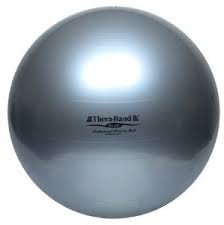 Thera-Band Exercise Ball Standard Silver – 85 cm