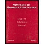 Mathematics for Elementary Teachers, Tom Bassarear, 0618051112