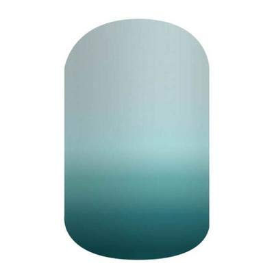 Naya - Jamberry Nail Wraps - HALF Sheet - Light Blue Teal Ombre - It Girls Collection… from Jamberry