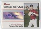 Tommy Manzella (Baseball Card) 2008 Bowman - Signs of the Future #SOF-TM
