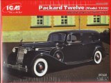 ICM Models Packard Twelve Model 1936 WWII Soviet Leader's for sale  Delivered anywhere in USA