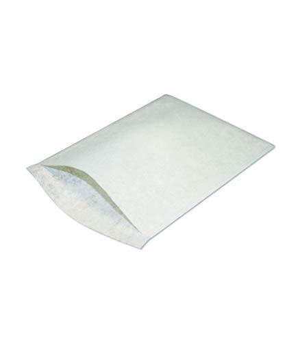 Gant de Toilette Aiguillet/é Blanc 225 x 150 mm Viscose Polyester//Le Carton de 750
