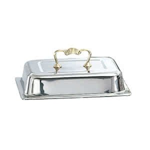 TableTop king 46036 Replacement Cover for 4.1 Qt. 46035 Half Size Classic Brass Chafer