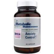 Metabolic Maintenance Anxiety Control 90 Capsules