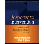 Response to Intervention - Principles & Strategies for Effective Practice (05) by PhD, Rachel Brown-Chidsey - Phd, Mark W Steege [Paperback (2005)]