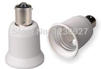 Halica BA15s E26 Adapter Out BA15S Inner E26 Conversion lamp holder