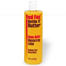 (Red Fox Bottle O Butter Cocoa Butter Moisturizing Lotion, 16 Ounce)