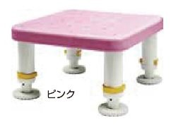 シンエイテクノ ダイヤタッチ浴槽台 レギュラーサイズ ピンク 43023 SYR10-15   B075QH35SG