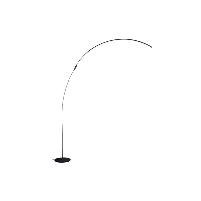 Brightech Sparq – Hanging, LED Arc Floo r Lamp – Over The ...