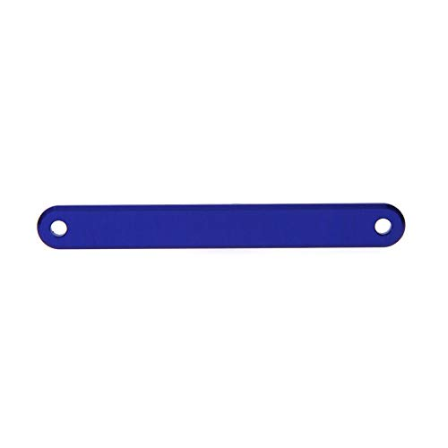 Atomik RC Traxxas Slash 2WD Alloy Tie Bar, Blue Replaces TRX - Bar Tie Rc