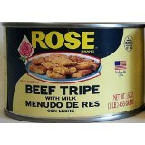 10 Pack Rose Brand Beef Tripe