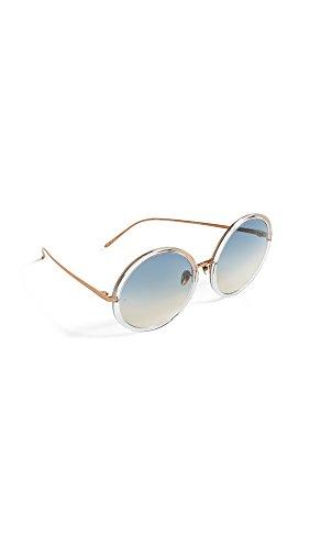 359baf4dbaad Linda Farrow Luxe Women s Oversized Round Sunglasses