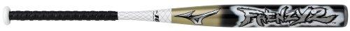 Mizuno Frenzy 2 Fastpitch Bat, Black/Gold, 34-Inch/24 Oz For Sale