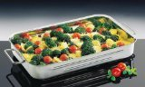 Kuchenprofi 1070002840 15-1/4-Inch by 10-Inch-1/4 by 2-1/2-Inch Stainless Steel Lasagna/Roast Pan