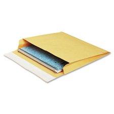 Open Side Kraft Expansion Envelope - Open-Side Mailers, Plain, 40Lb, 10