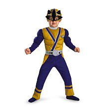 Gold Ranger Samurai Muscle Costume - Toddler Small