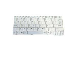 AEZG5R00120 New Genuine Acer Aspire One A110 A150 D150 D250 ZG5 Series Keyboard White (Keyboard Acer Zg5)