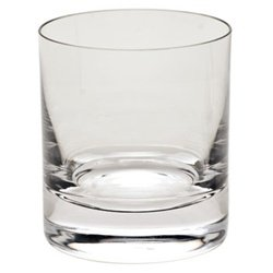 Moser Whisky- Plain Cut Double Old Fashioned, Clear